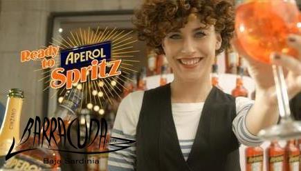 Sabato 3 Agosto @ Barracuda Baja Sardinia: Aperol Spritz Party,                   Evento Ufficiale Aperol!
