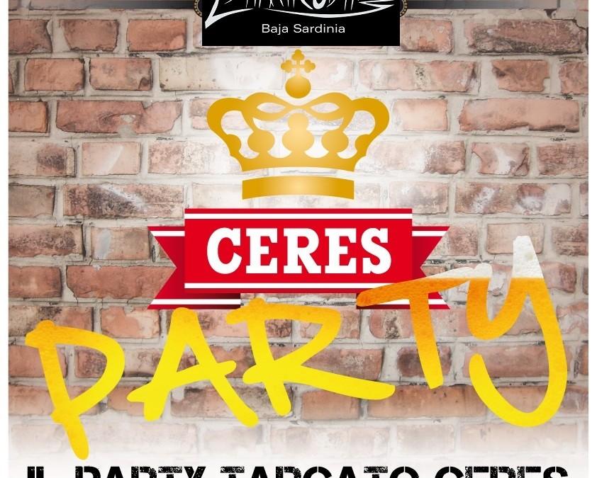 Ogni Venerdì un Party. Venerdì 23 agosto: Festa Ceres.